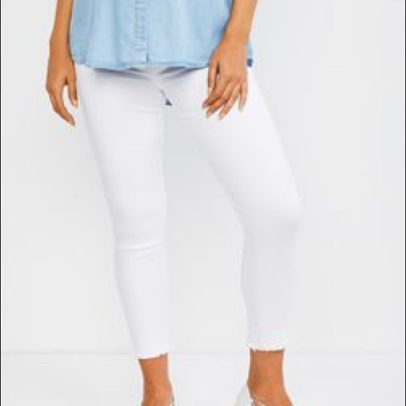 91340403363de Joe's Jeans Jeans | Joes Icon Skinny Crop Maternity White | Poshmark